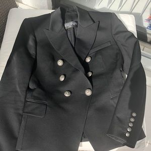 BALMAIN AUTHENTIC BLACK BLAZER